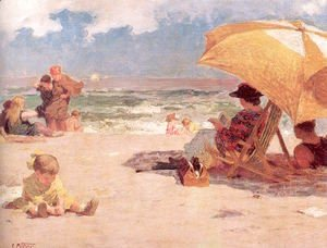 Edward Henry Potthast - At the Seaside