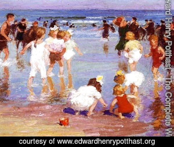 Edward Henry Potthast - Happy Days 1910-20