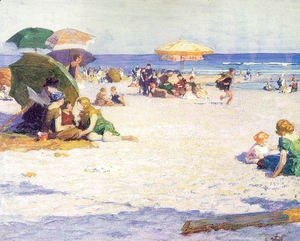 Edward Henry Potthast - Long Beach 1922