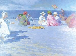 Edward Henry Potthast - The Balloon Vendor 1910