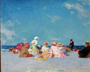 Edward Henry Potthast - Afternoon Fun, c.1907-27