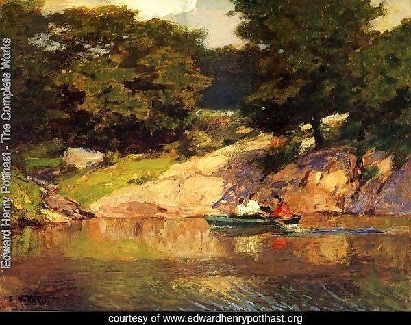 Boating in Central Park, c.1900-05