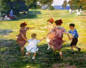 Edward Henry Potthast - Ring Around the Rosie, 1910-15