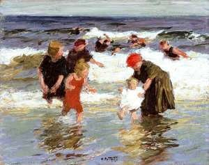 Edward Henry Potthast - Bathers, c.1913