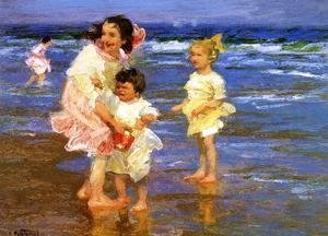 Edward Henry Potthast - Cold Feet