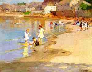 Edward Henry Potthast - At the Beach I