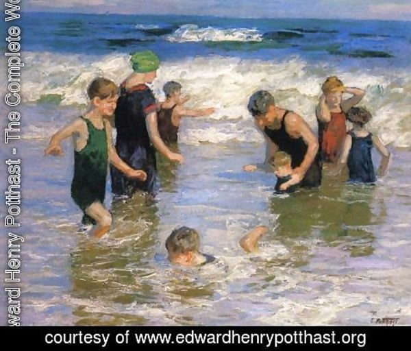 Edward Henry Potthast - The Bathers 2