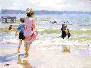 Edward Henry Potthast - At the Seashore 2