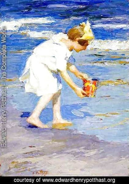 Edward Henry Potthast - Brighton Beach 2