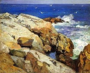 Edward Henry Potthast - The Maine Coast