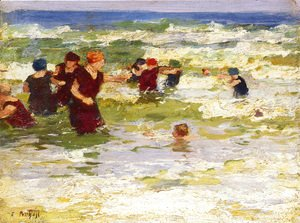 Edward Henry Potthast - At the Beach II