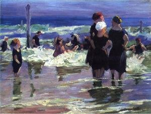 Edward Henry Potthast - The Gossips