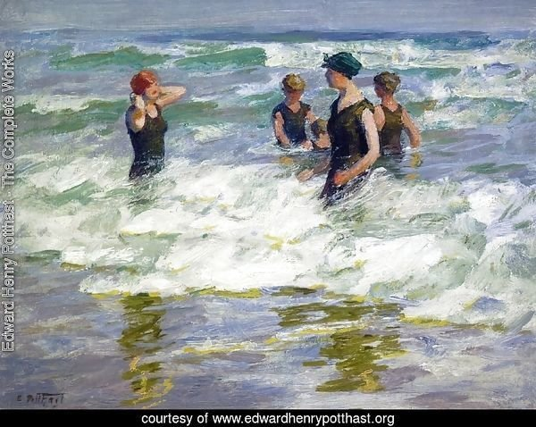 Bathers in the Surf I