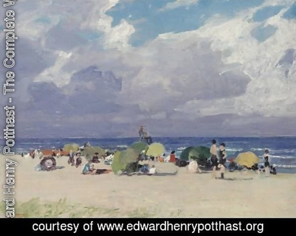 Edward Henry Potthast - Day at the Beach
