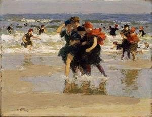 Edward Henry Potthast - At the Seaside 3
