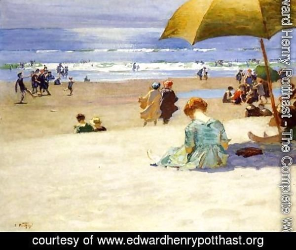 Edward Henry Potthast - Hourtide