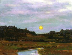Edward Henry Potthast - Harvest Moon