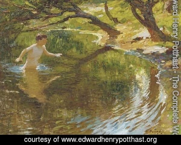 Bathing Boy