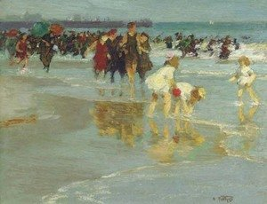 Edward Henry Potthast - Bathers 2
