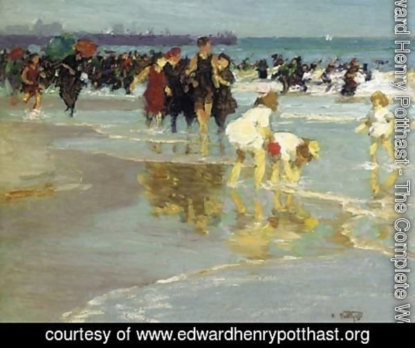 Edward Henry Potthast - Bathers 3