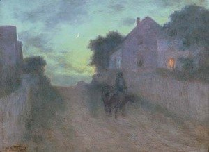 Edward Henry Potthast - Twilight