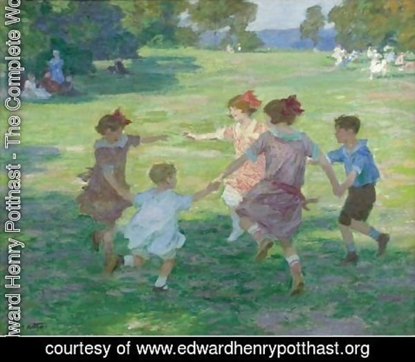 Edward Henry Potthast - Springtime Of Life