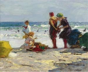 Edward Henry Potthast - The Bathers 3