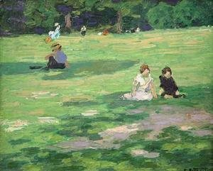 Edward Henry Potthast - In the Park