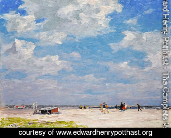 Edward Henry Potthast The Complete Works Beach Scene 3