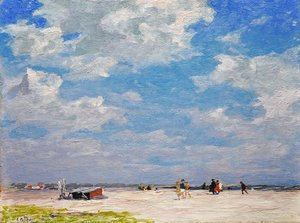 Edward Henry Potthast - Beach Scene 3